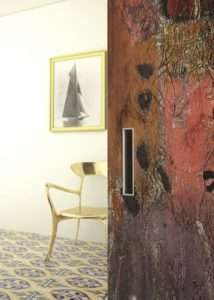 Particolare maniglia Dipinto