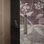particolare porta telaio