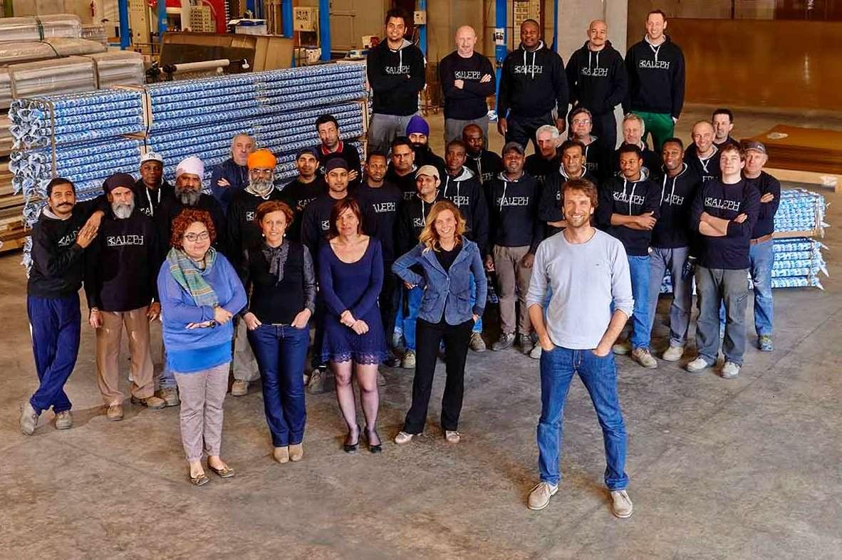 aleph aluminium team